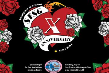 SFSG 10th Anniversary Party!