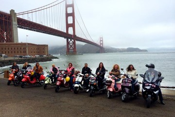 Meeting & Socializing with SF ScooterGirls